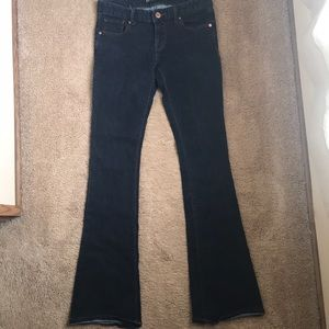 Slim flare express jeans